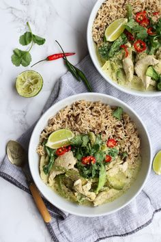 Thai Green Chicken Curry | The Mother Cooker