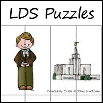 LDS Puzzles - Fun puzzles of different sizes.