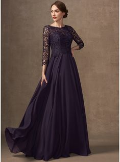 Long Fall Dresses, Mother Of The Bride Dresses Long, Chiffon, Swatch, Long Sleeve Gown, Floor Length Dresses, Custom Dresses, Wedding Party Dresses, Special Occasion Dresses