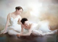 Liu Yi | Chinese Figurative Painter | Watercolor
