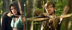 Robin Hood bbc  | Marian's Portrayal in The BBC Robin Hood had her as a skilled archer.
