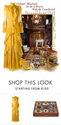 """Colonel Mustard"" by love-n-laughter ❤ liked on Polyvore featuring Roberto Cavalli and Burberry"
