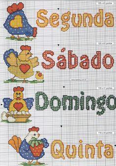 bordado ponto cruz para cozinha galinha 2.jpg (1123×1600)