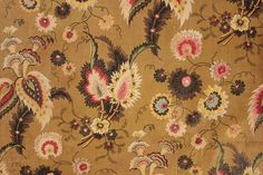 French printed , glazed cotton dating c1820-1830.