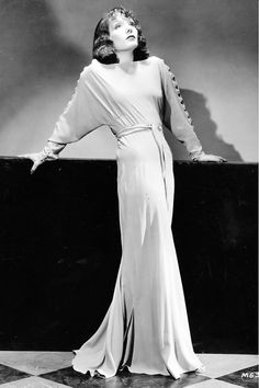 Lupe Velez - gown by Adrian