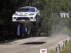 Ford Foucs WRC rally car