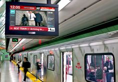 Toronto's Subways Transformed Into Underground Theatre Experience. Pattison Onestop's 290 screen digital signage network broadcasts the Toronto Urban Film Festival to more than one million commuters.