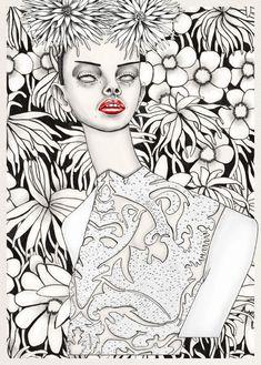Illustration - illustration  - ///Tara Dougans Fashion Illustrations  www.creativeboysc...   illustration :     – Picture :     – Description  ///Tara Dougans Fashion Illustrations  www.creativeboysc…  -Read More –