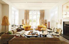 C'était une ferme, l'architecte India Mahdavi en a fait une gentilhommière, terrienne et sophistiquée. En tout cas idéale pour accueillir une impressionnante collection d'art contemporain © Jason Schmidt