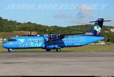 Azul - Linhas Aereas Brasileiras ATR ATR-72-500 (ATR-72-212A) Recife - Guararapes (REC / SBRF) Brazil, April 18, 2014 Azul Brazilian Airlines, Atr 42, Airplanes, Pilot, Aviation, Aircraft, Military, Recife, Men