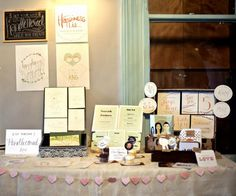 Alternative Wedding Fair  - Happiness is... stall