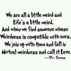mutual weirdness!