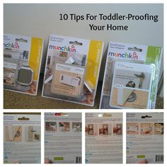 10 Tips For Toddler-Proofing Your Home via viewsfromtheville.com