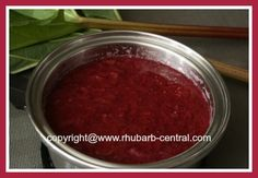 """Make Green Rhubarb Red using Raspberry or Strawberry Flavoured Gelatin, for Example """"Jello""""."""