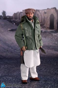 The Soviet Afghan War 1980s Afghanistan Civilian Fighter - Arbaaz
