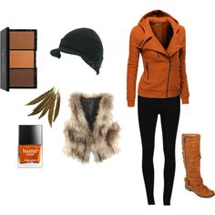 """""""Urban Autumn/Woodsy Outfit"""" by k-smith407 on Polyvore"""