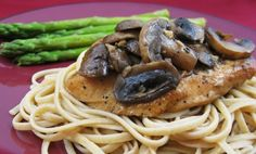 Perfect Sauteed Mushrooms - Chicken Breasts with Balsamic Vinegar and Garlic