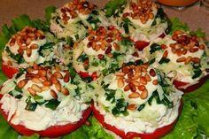 Лучшие кулинарные рецепты: Салат-закуска с курицей и кедровыми орешками