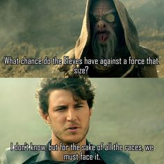 """And face it they shall. #Shannara"""