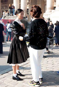 Exit Chanel SS2015 Streetstyle : Oksana On - by Lelook
