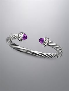 Moonlight Ice® Bracelet, Amethyst  David Yurman