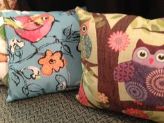 New pillows at Salmagundi Shop in downtown on Washington Avenue in Ocean Springs.