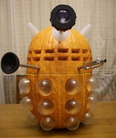 Don't make any sudden movements around this jack-o-lantern -unless you happen to have a sonic screwdriver on hand that is. Description from neatorama.com. I searched for this on bing.com/images