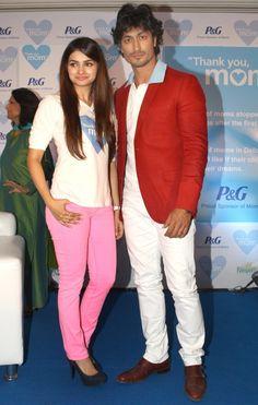 Vidyut Jammwal and Prachi Desai at P 'Thank You Mom Event