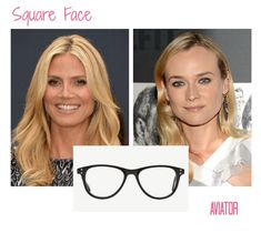 glasses frames for square face shape | how to pick glasses for your face shape, square face glasses