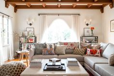 Before and After: A Family's Serene Bohemian Space via @mydomaine