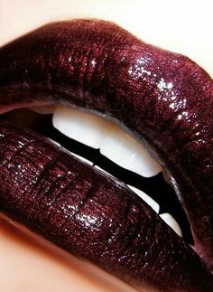 # Bewitching Burgundy Lips