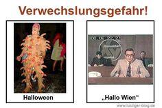 Verwechslungsgefahr Halloween
