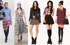 From the runway, straight to your closet. We're mad for plaid with these pieces from Forever21!
