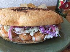 Today at Boca 31: Spicy shrimp Sandwich  Poblano mayo aji Slaw pickled onions  11.75$  @boca31.denton  #boca31 #chefandresmeraz #dentonslacker #dealoftheday #lunchspecial #denton #dentontexas #dentontx #dentoning #wedentondoit #wddi #unt #twu #dentonite #doingitdenton #dentonproud