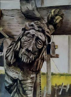#ART #oilpainting #cross #religious #pain # crucifix #масло #картинамаслом #религия #крест #распятие #религиознаятема #original
