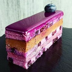 Blueberry Lavender Opera Cake by @dianas_delights #pastrychef #patisserie #pastrylove #pastrylife #yummy #instagood #insta #instafood #amazing #follower #fan #tutorial #baking #paris #pic #foodgasm #partage #chocolate #chocolates #delicious #picture #delights #desserts #yummyyummy #food #pastryvideos #pastrychef #patisserie #pastrylove #pastrylife #yummy #instagood #insta #instafood #amazing #follower #fan #tutorial #baking #paris #pic #foodgasm #partage #chocolate #chocolates #delicious…