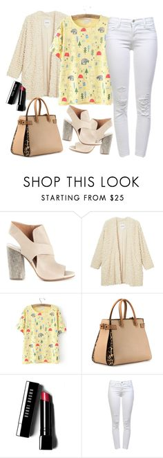 """""""Fashion"""" by yoinerperez ❤ liked on Polyvore featuring Maison Margiela, Monki, VBH, Bobbi Brown Cosmetics and J Brand"""