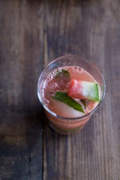 The perfect summer cocktail- Watermelon Mojitos!