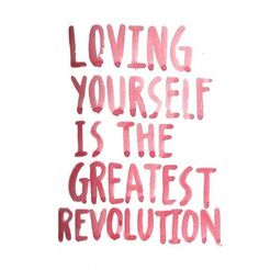 Loving yourself is the best gift you can give to the world ...Double tap or comment below if you are in for the #selfloverevolution ! #spreadlove