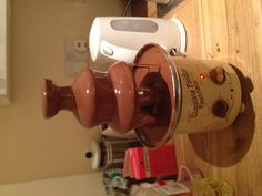 Choc fountain - thats how we roll