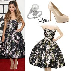 Ariana Grande steal her style ♡ Stylish Outfits, Cute Outfits, Fashion Outfits, Stage Outfits, Girly Outfits, Fashion Clothes, Orange Bodycon Dress, Ariana Grande Outfits, Japanese Streetwear