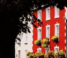 Red & white homes