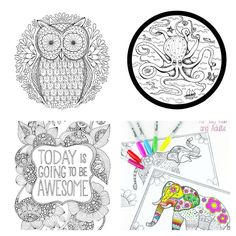 Go Forth And De Stress With Even More Adult Coloring Pages