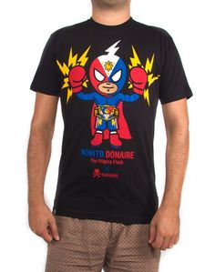 "tokidoki x Nonito Donaire ""The Filipino Flash"" - Black #tokidoki #tkdk #simonelegno"