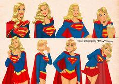 Visions of Supergirl by Des Taylor by DESPOP.deviantart.com on @deviantART