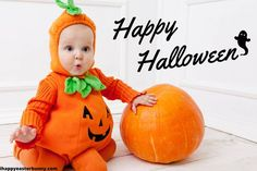 Wish Your Loving One A Very Happy Halloween 2020 With Happy Halloween Background 😍 :) 💜❤️💜❤️💜❤️ 😍 :) #HappyHalloweenBackground #HappyHalloweenBackgroundImages #HalloweenBackground2020 #HappyHalloweenBackgroundWallpaper #HappyHalloweenBackgroundPhotos Baby Pumpkin Halloween Costume, Halloween Fotos, Baby First Halloween, Halloween Tags, Cute Halloween Costumes, Happy Halloween, Halloween Party, Infant Halloween, Halloween Humor