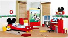 Mickey Mouse Bedroom Furniture Set