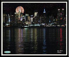 A painting of NY...so mesmerising no?