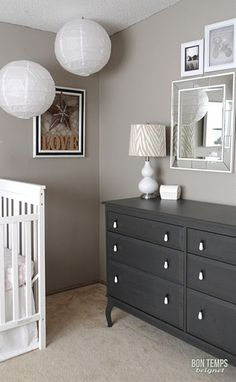 Boy nursery, I don't know about this for a nursery, it's definitely my style but I feel like it needs more of a children's touch