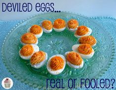 """Deviled eggs"" and other fake-out foods for April Fool's!"